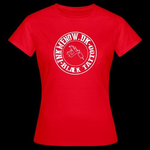 logo hvid png - Dame-T-shirt
