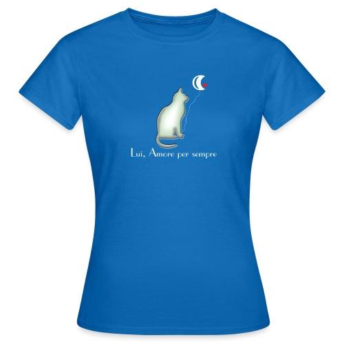 GATTO-E-LUNA - Maglietta da donna