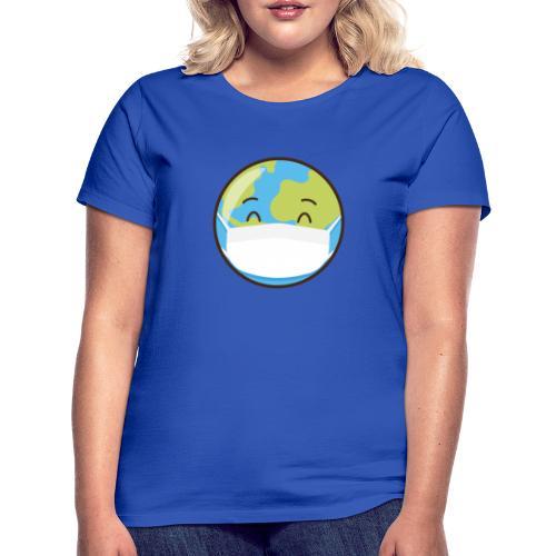 Mundo mascarilla - Camiseta mujer