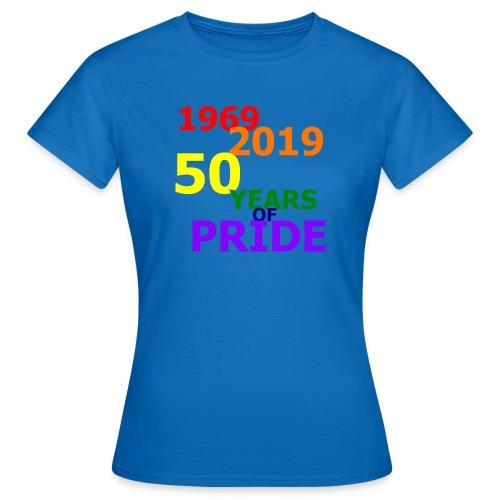 50 Jahre CSD - Frauen T-Shirt