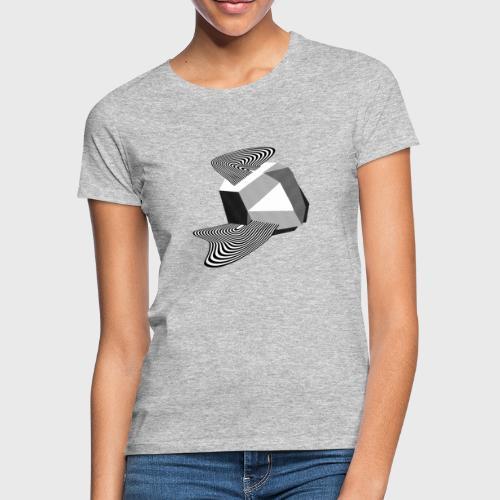 Sharp Curves - T-shirt Femme