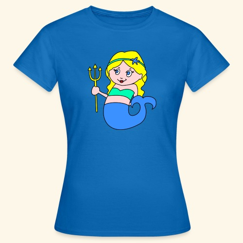 little mermaid blonde - Women's T-Shirt