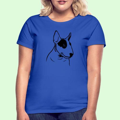 Tête de Bull Terrier - T-shirt Femme