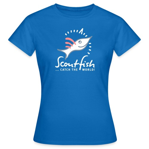 kompassscoutfishslogan - Frauen T-Shirt
