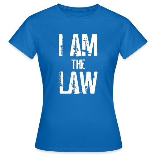 Tank top girl woman I AM THE LAW per avvocatessa - Women's T-Shirt