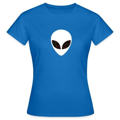 White alien - T-shirt Femme