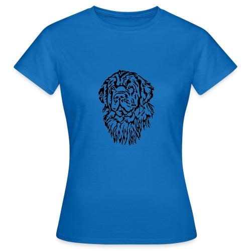 Neufundländer Kopf - Frauen T-Shirt