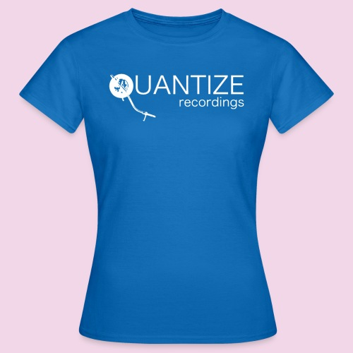 Quantize White Logo - Women's T-Shirt