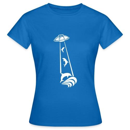 OVNI Dauphins Abduction - T-shirt Femme