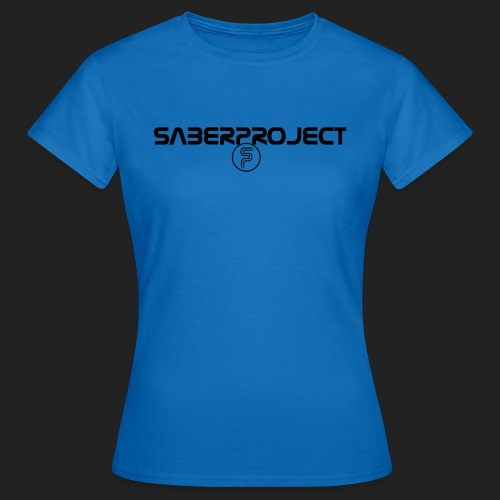Saberproject Schriftzug - Frauen T-Shirt