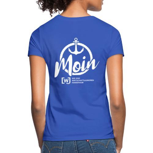 Moin Hanseraum weiß - Frauen T-Shirt