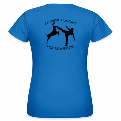 Fighterweb Hunting - Frauen T-Shirt