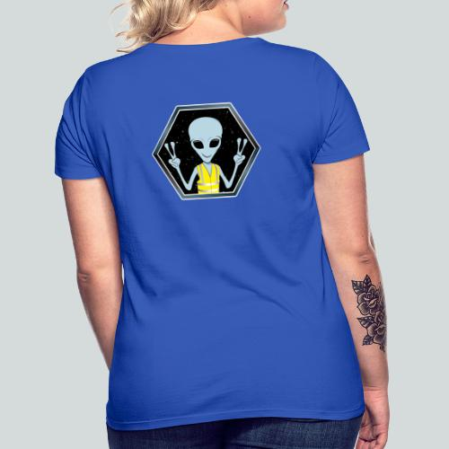 Extraterrestre Gilet jaune - T-shirt Femme