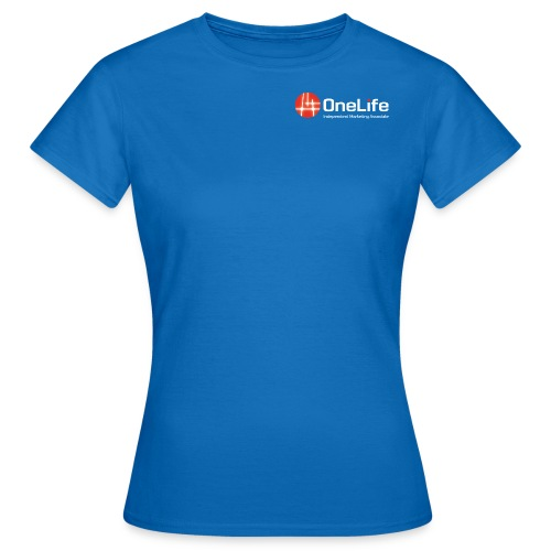onelife ima logo dark bac - Women's T-Shirt