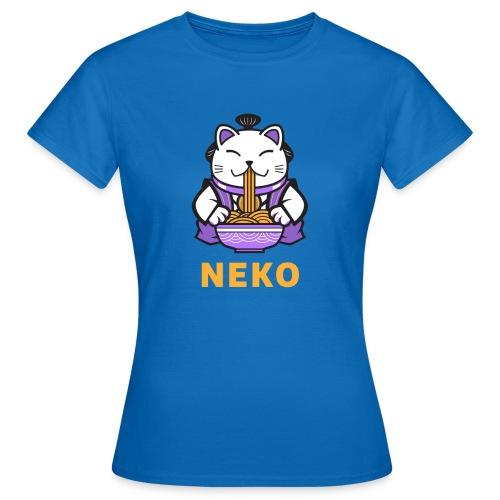 Gato Manga Anime | Neko Ramen Kawaii - Camiseta mujer
