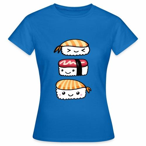 Sushis Kawaii - T-shirt Femme