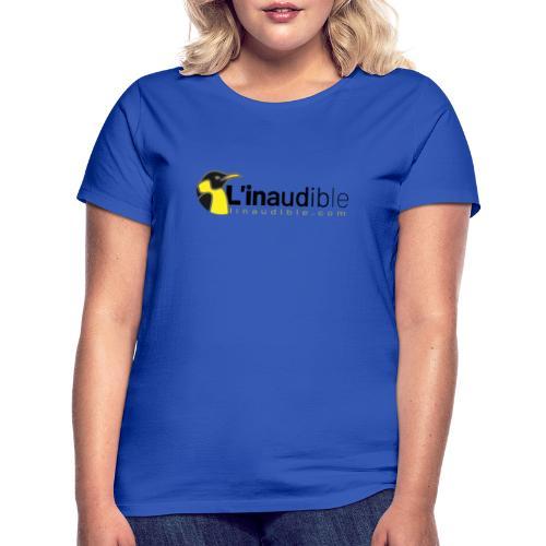linaudible2020noir - T-shirt Femme