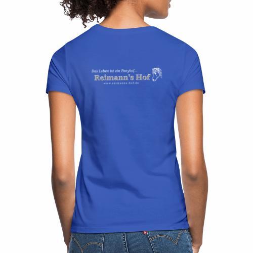 Reimann' Hof Islandpferd beidseitig - Frauen T-Shirt