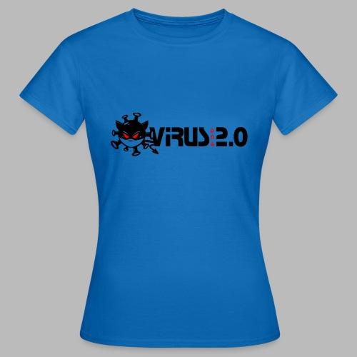 VIRUS 2.0 - T-shirt Femme