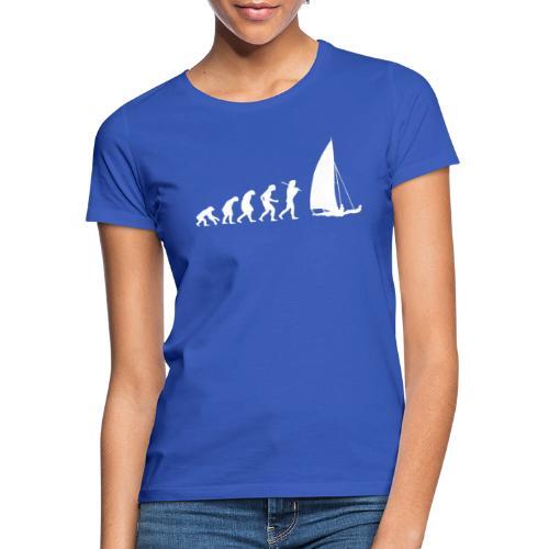 evolution sailboat - Maglietta da donna