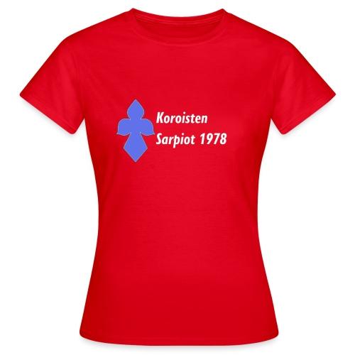 Koroisten Sarpiot - Naisten t-paita