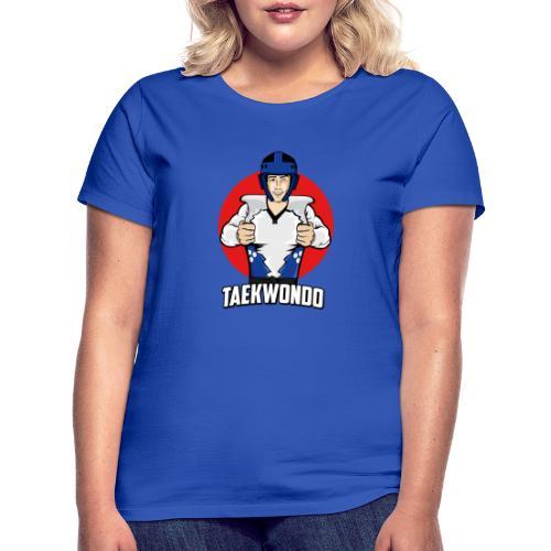 Nouveau Design Taekwondo Dessin Animé Cartoon - T-shirt Femme