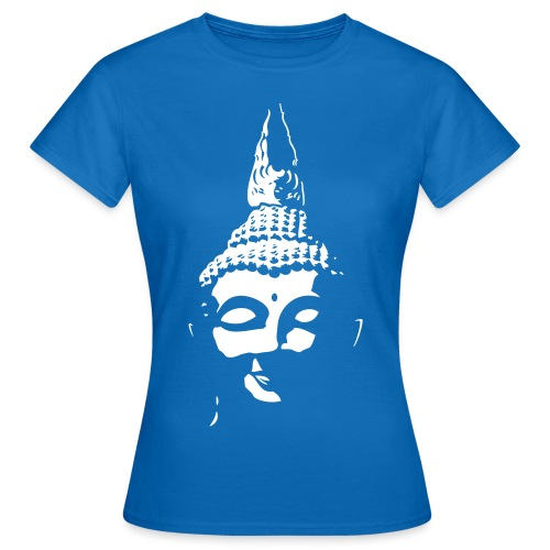 Boeddha hoofd diapositief - Vrouwen T-shirt