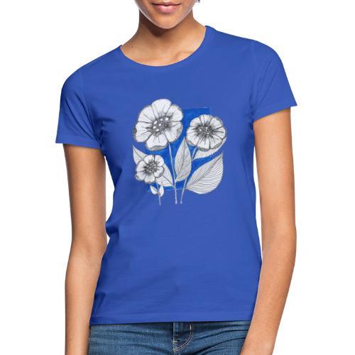 Fiori - Maglietta da donna
