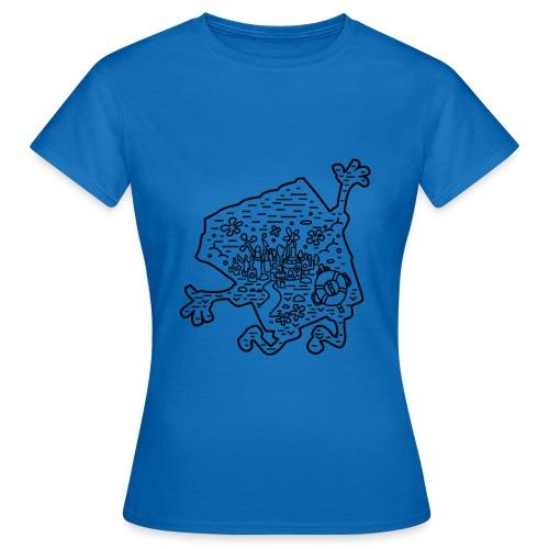 Der Meeresgrund - Frauen T-Shirt