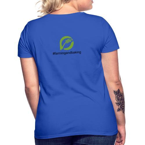 farmingandbaking_logogruen - Frauen T-Shirt