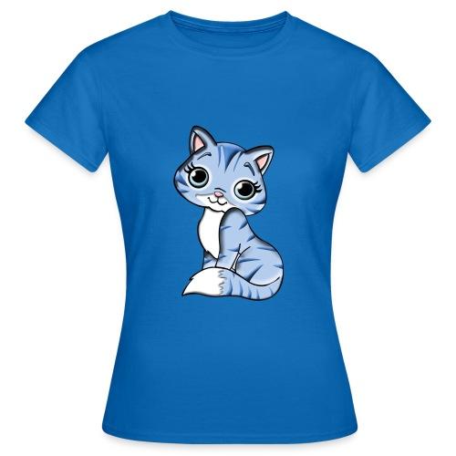 CUTE KITTY - Camiseta mujer