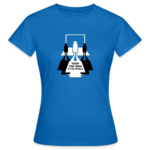 The Man in the Middle - Women's T-Shirt