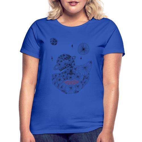Muster planeten - Frauen T-Shirt