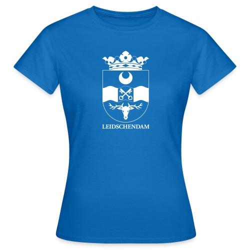 Leidschendam oude wapen wit diapositief - Vrouwen T-shirt
