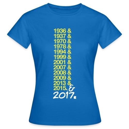 asm2017 - T-shirt Femme