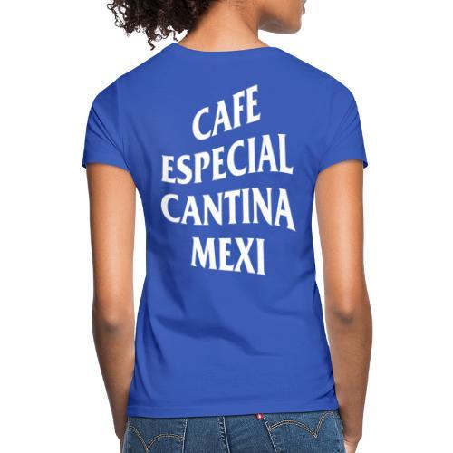 Mex Wave Logo Weiss - Frauen T-Shirt