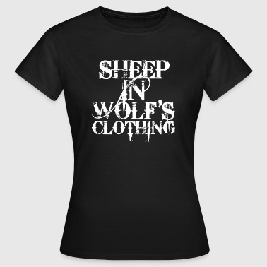 Sheep In Wolf's Clothing - white - Frauen T-Shirt