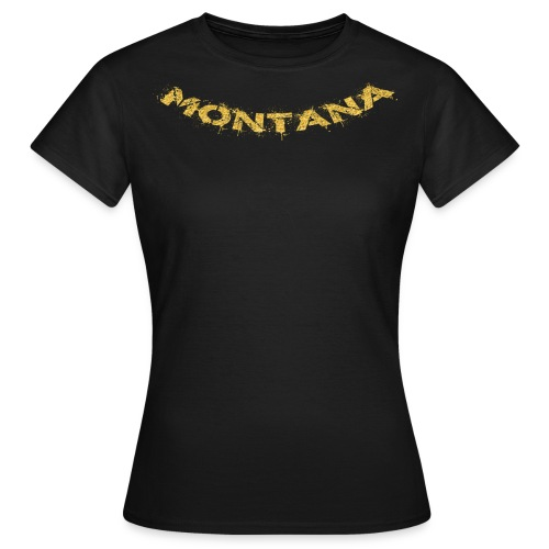 Montana Gold - Frauen T-Shirt