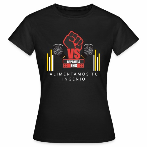 PRODUCTOS RAPBATTLE-ENS - Camiseta mujer