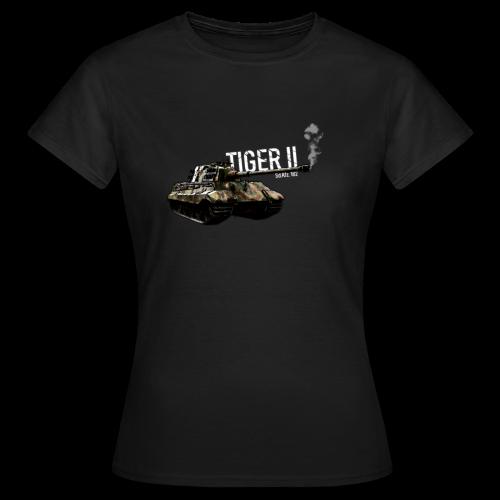 German Tank - Tiger 2 (Sd.Kfz. 182) - Women's T-Shirt