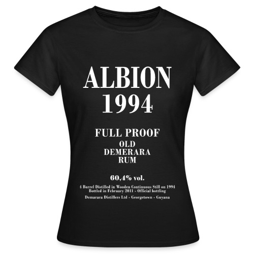 Albion Label Velier Demerara Designs - Dame-T-shirt