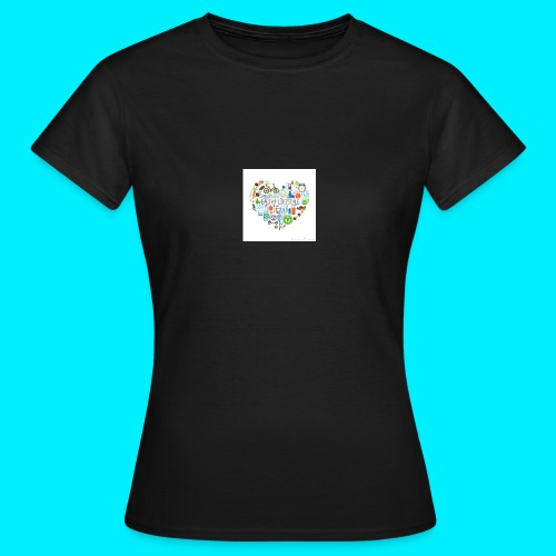 Heart image - Women's T-Shirt