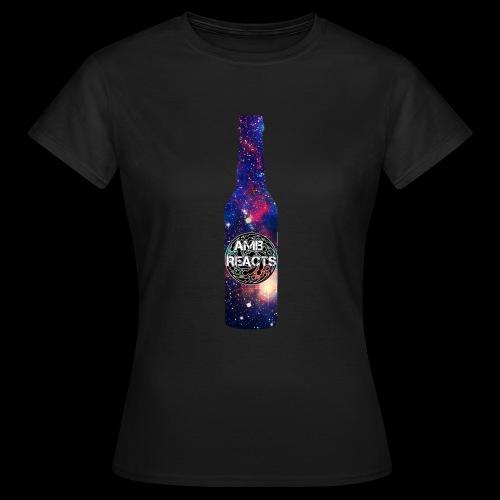 Space beer bottle logo - Women's T-Shirt