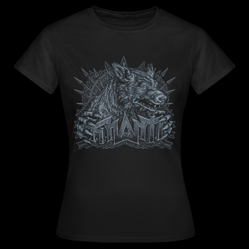 khasm Fenris crest - T-shirt Femme