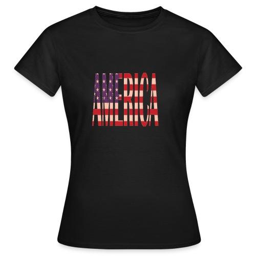 nuevos productos de America - Camiseta mujer