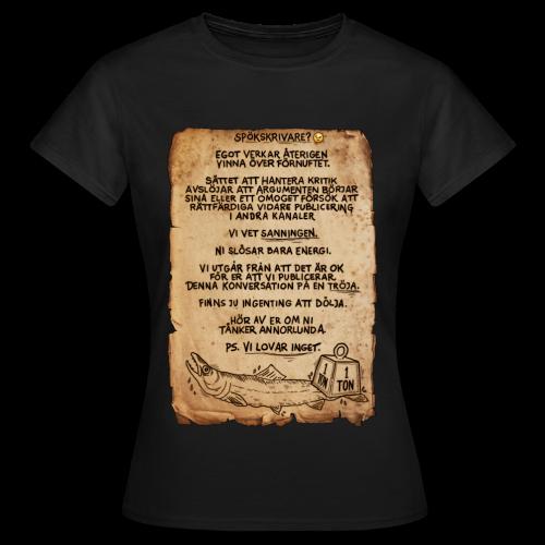 VI LOVAR INGET-Tröjan - T-shirt dam