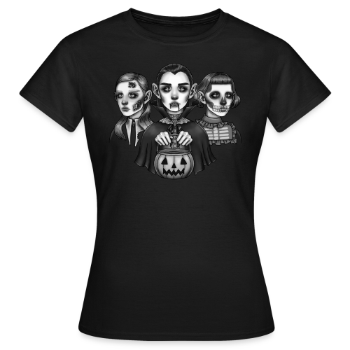 Trick-or-Treat Monsters - Dame-T-shirt