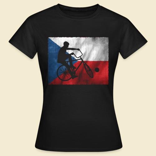 Radball   Flagge Tschechien - Frauen T-Shirt