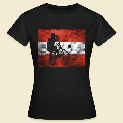 Radball   Flagge Österreich - Frauen T-Shirt