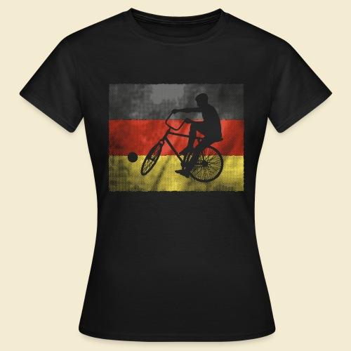 Radball   Flagge Deutschland - Frauen T-Shirt